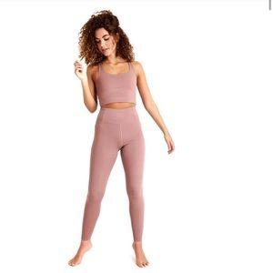 Girlfriend collective rose quartz 7/8 leggings